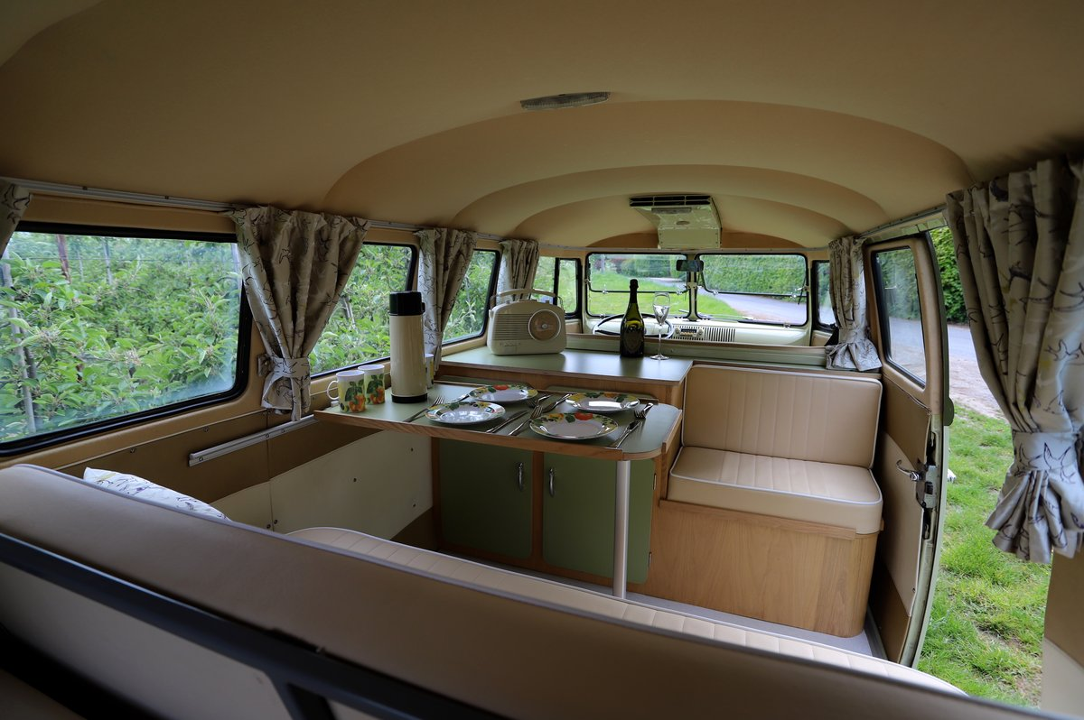 SOLD 1957 VW Split Screen Camper Van. Beautiful early bus! SOLD (picture 6 of 6)
