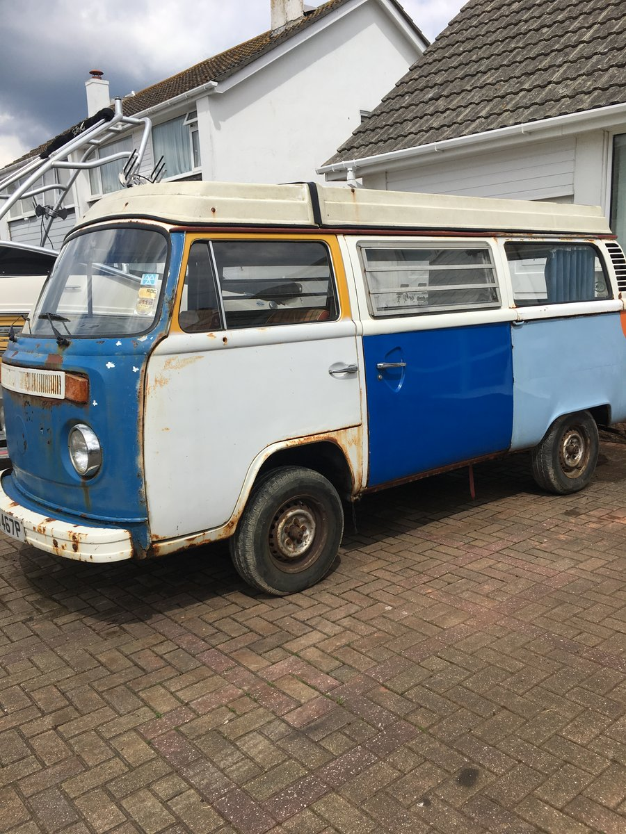 1975 VW T2 CAMPERVAN For Sale (picture 2 of 4)