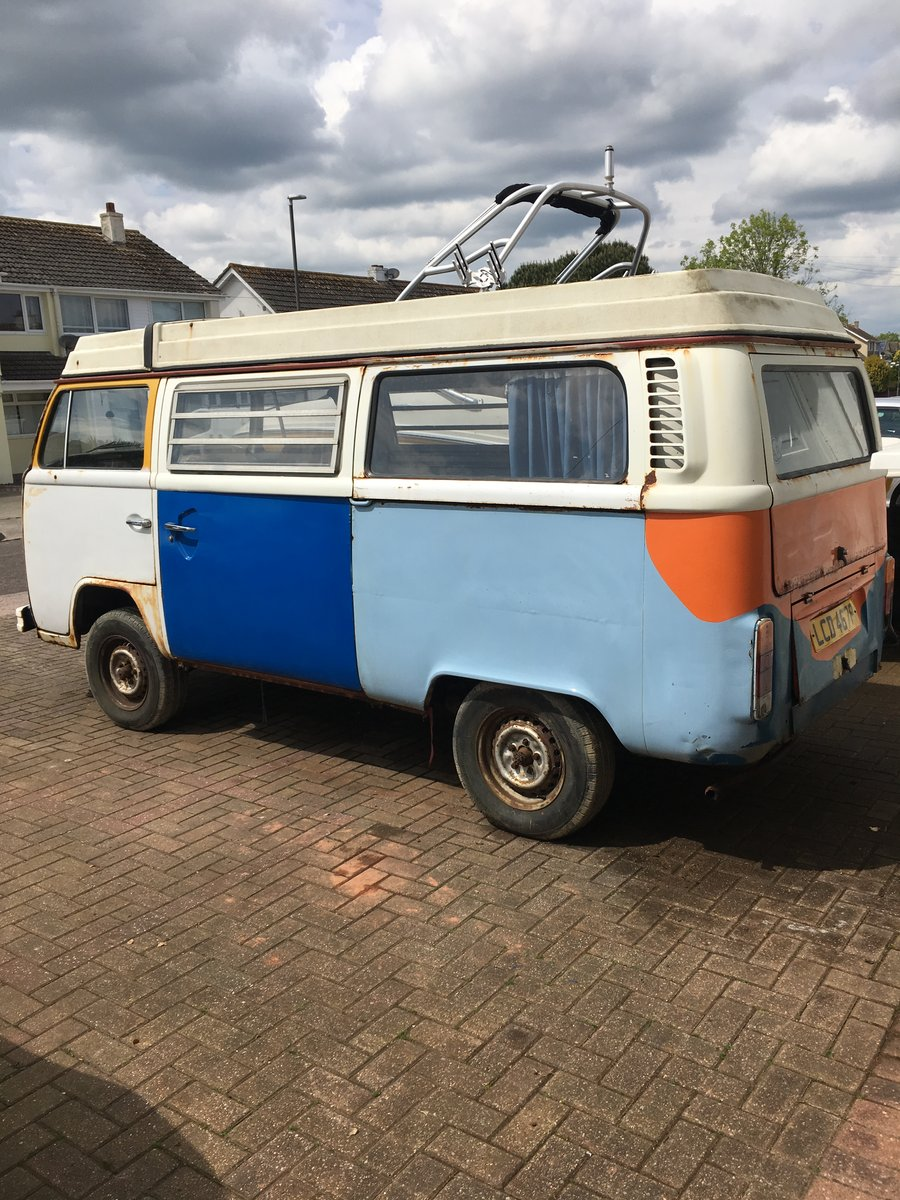 1975 VW T2 CAMPERVAN For Sale (picture 3 of 4)