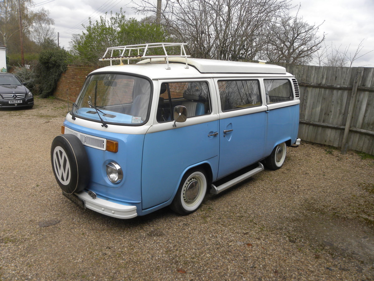 1976 VW CAMPER T2 BAY WINDOW. Restored 2008 For Sale (picture 1 of 6)