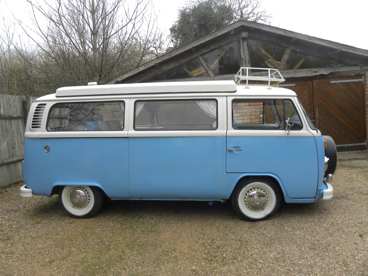 1976 VW CAMPER T2 BAY WINDOW. Restored 2008 For Sale (picture 2 of 6)