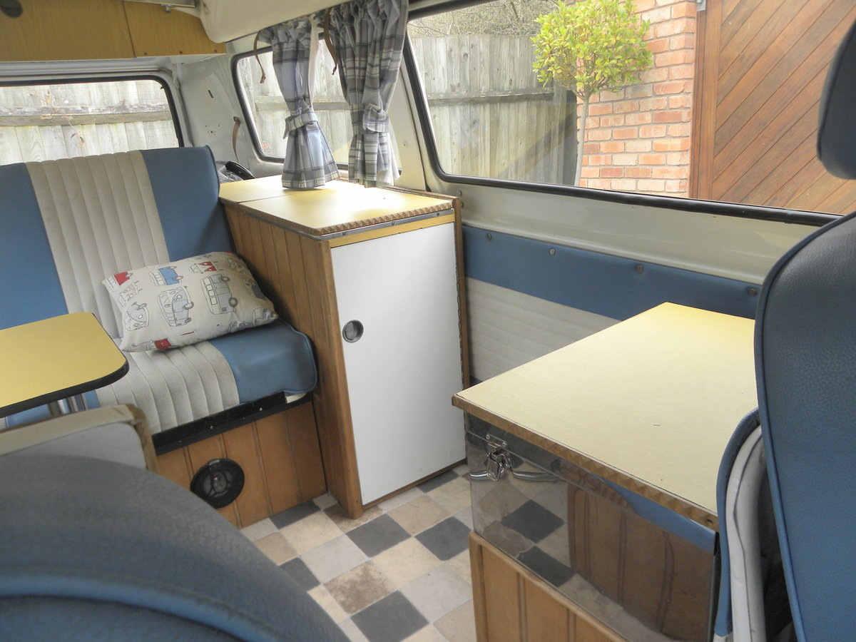 1976 VW CAMPER T2 BAY WINDOW. Restored 2008 For Sale (picture 5 of 6)