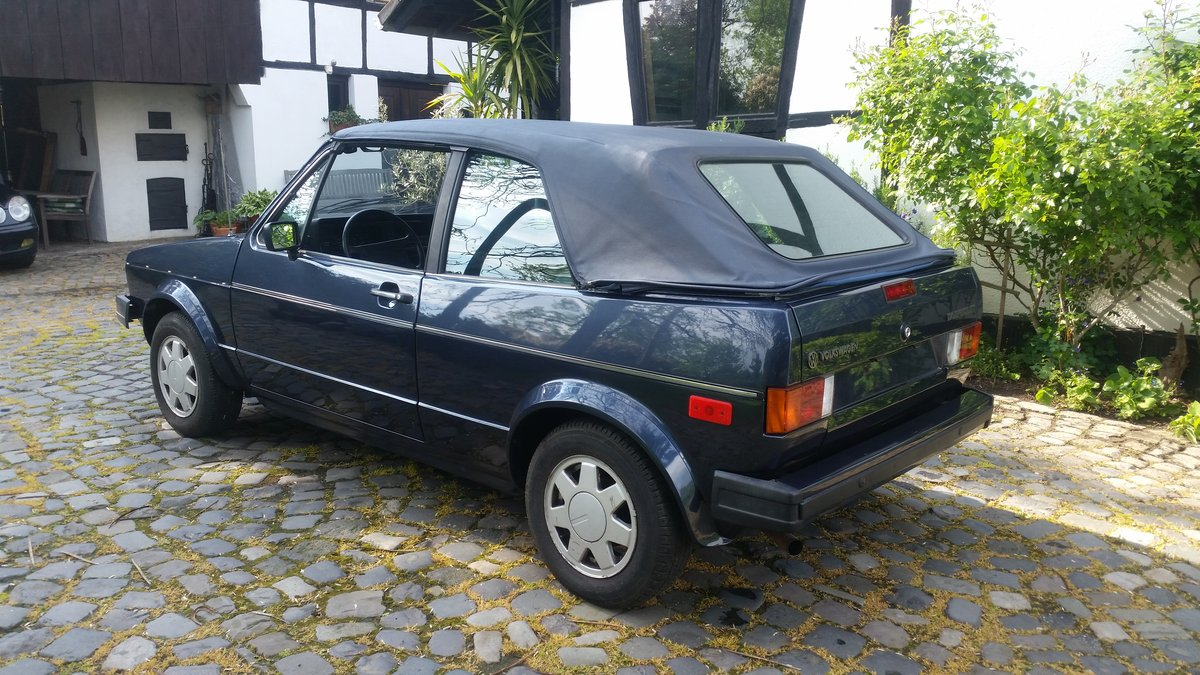 1986 Golf GTI Cabriolet , 100% rustfree , never welded SOLD (picture 3 of 6)