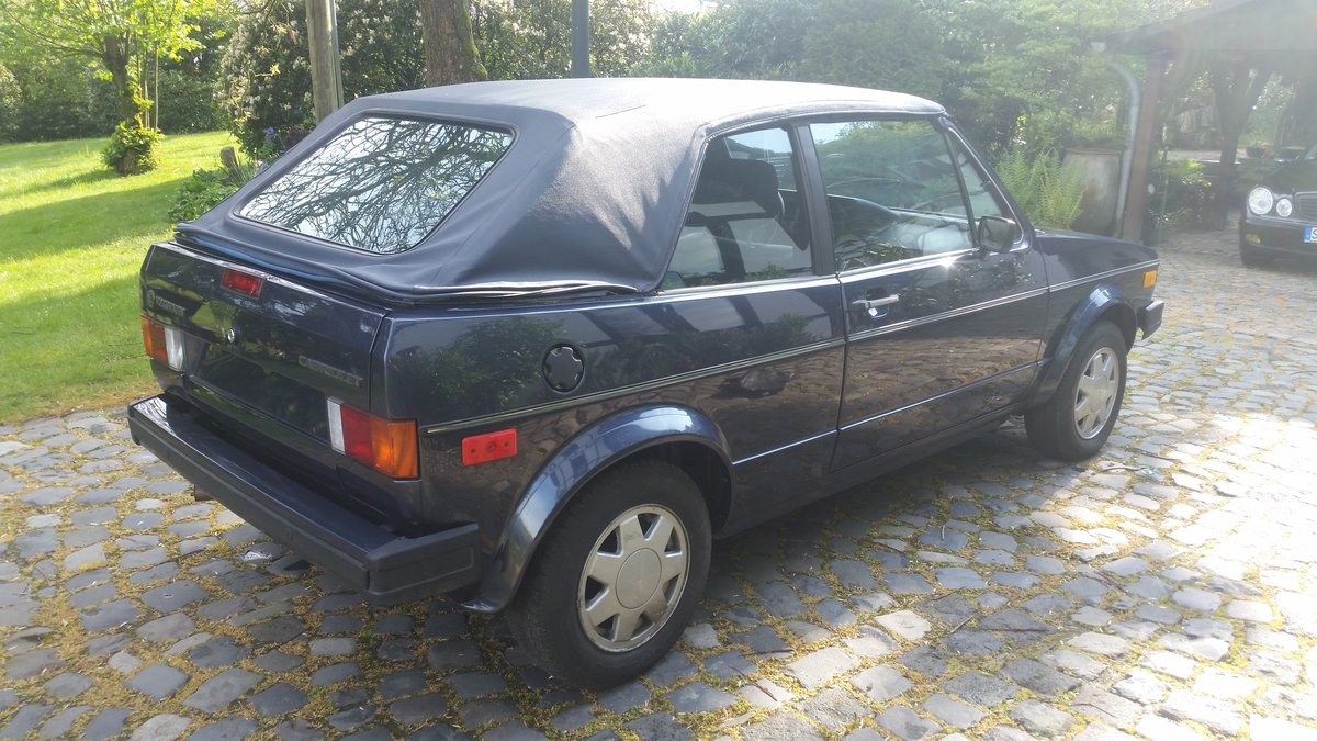 1986 Golf GTI Cabriolet , 100% rustfree , never welded SOLD (picture 4 of 6)