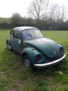 1972 Beetle 1303 for restoration