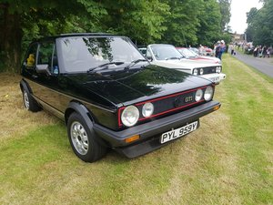 Golf MK1 GTi black 3 door 1983 restored 93k For Sale