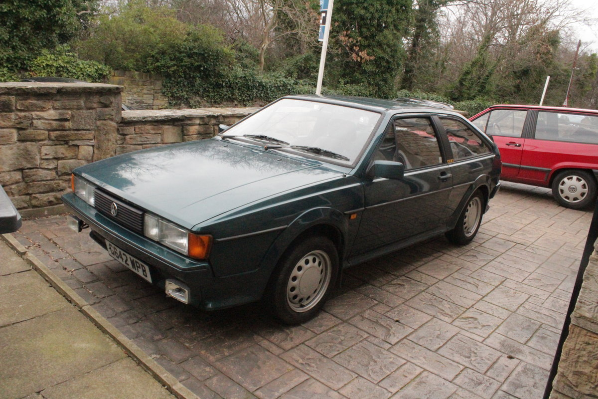 1990 Project: SORN 1989/90 VW Scirocco *Quick Sale* SOLD (picture 1 of 6)