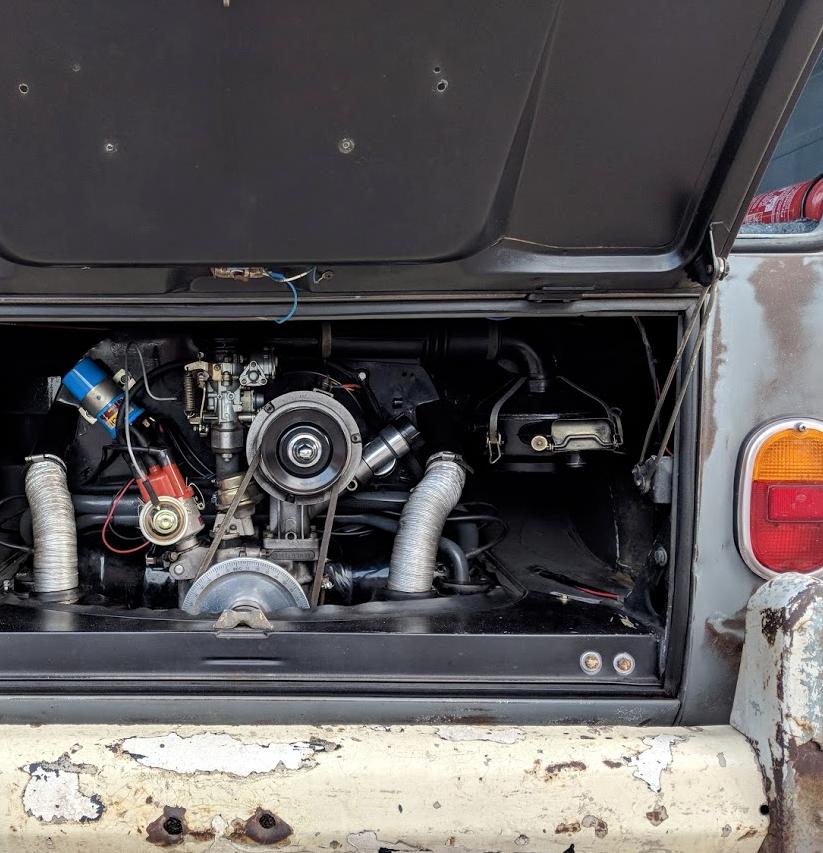 1966 RHD VW splitscreen panel van - camper T2 T5 For Sale (picture 5 of 6)