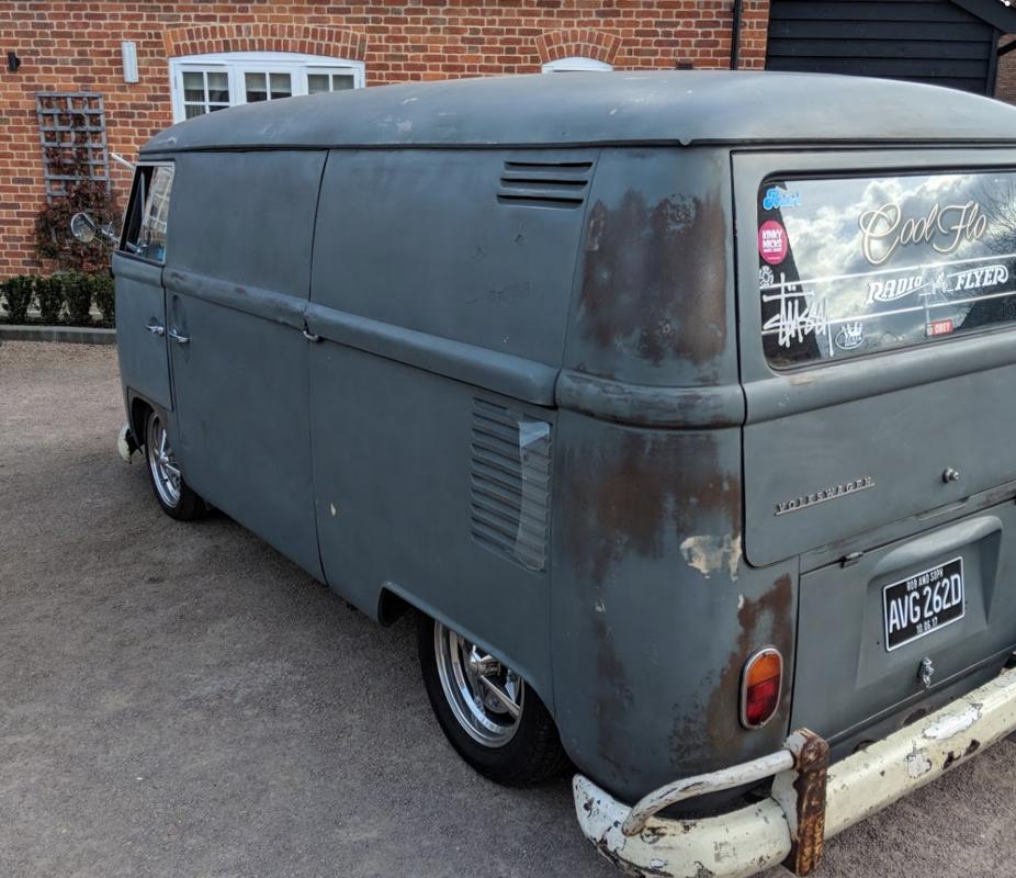 1966 RHD VW splitscreen panel van - camper T2 T5 For Sale (picture 6 of 6)