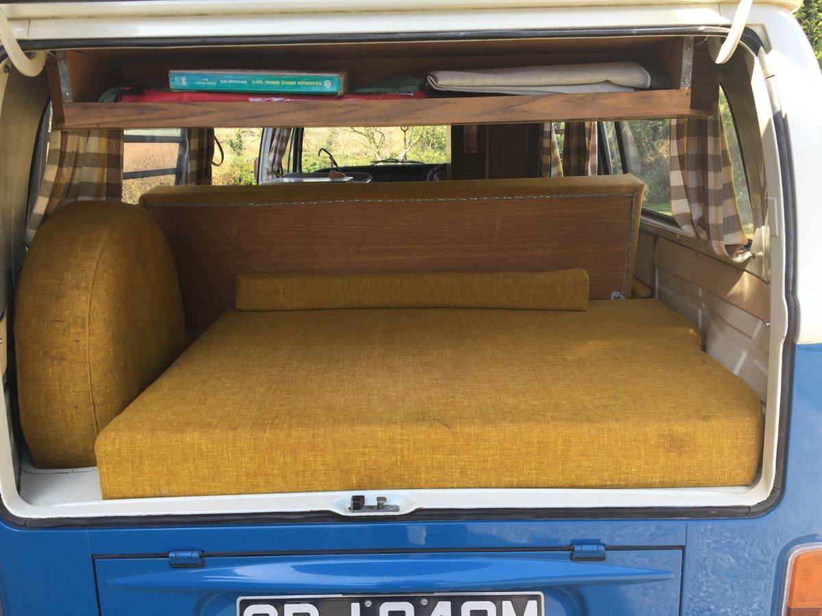 1973 VW Type 2 Westfalia Factory Camper, 1972 RHD. For Sale (picture 3 of 6)