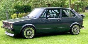 1983 Mk1 GOLF 1.8 turbo