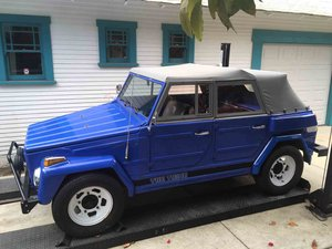 1974 Volkswagon Thing = Convertible Fun Blue(~)Grey $13.9k  For Sale