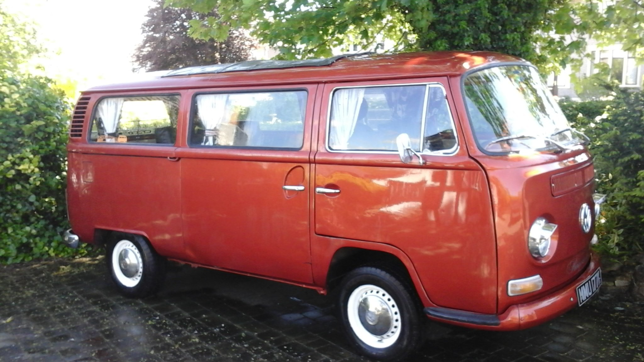 1972 VW VOLKSWAGEN T2 TYPE2 BAYWINDOW CAMPER VAN LOW LI For Sale (picture 1 of 6)