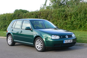 2002 Volkswagen Golf 2.3 V5 Five Door Auto For Sale by Auction