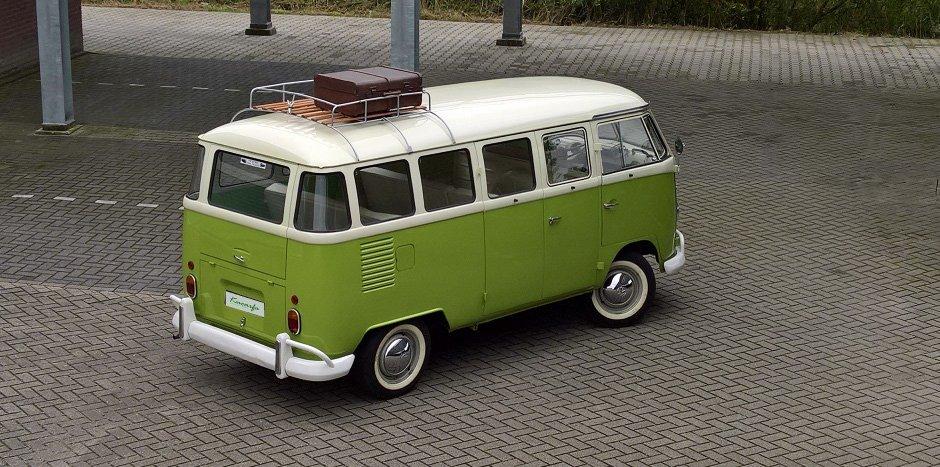 1975 Volkswagen T1 Kombi deluxe 15 windows 75 hp For Sale (picture 3 of 6)