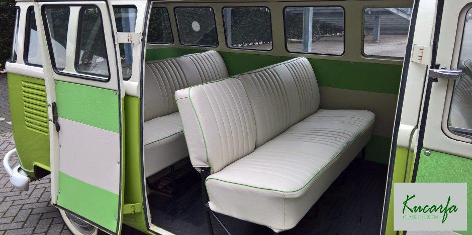 1975 Volkswagen T1 Kombi deluxe 15 windows 75 hp For Sale (picture 4 of 6)