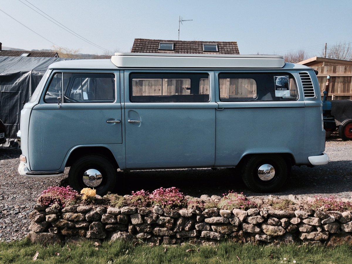 1972 VW Camper Bay Window (Devon) For Sale (picture 1 of 6)