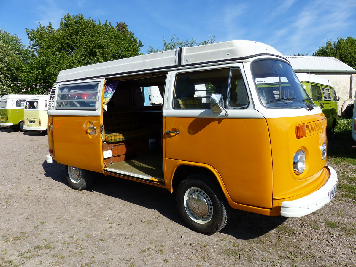 1976 TYPE 2 WESTFALIA BERLIN CAMPER 2.0 For Sale (picture 1 of 6)