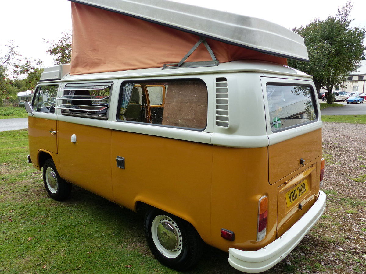 1976 TYPE 2 WESTFALIA BERLIN CAMPER 2.0 For Sale (picture 2 of 6)
