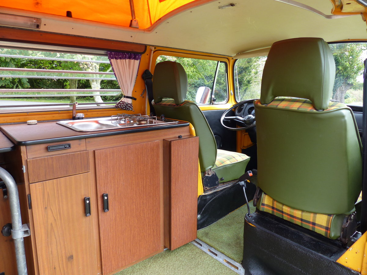 1976 TYPE 2 WESTFALIA BERLIN CAMPER 2.0 For Sale (picture 4 of 6)