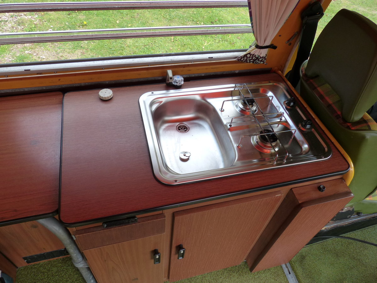 1976 TYPE 2 WESTFALIA BERLIN CAMPER 2.0 For Sale (picture 5 of 6)