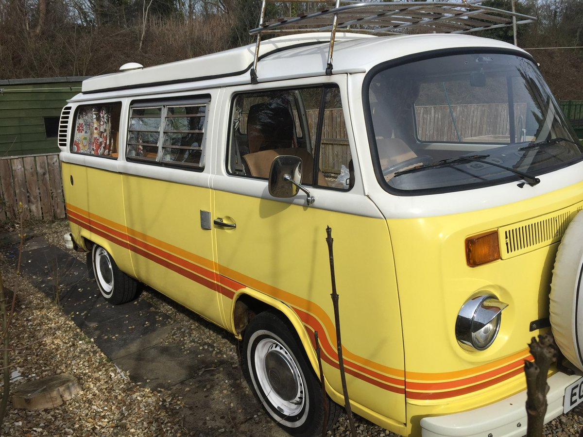 1978 VW CampervanType2 Bay Window  Devon Moonraker For Sale (picture 3 of 5)