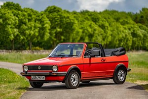 1982 VW Golf GLI Cabriolet For Sale