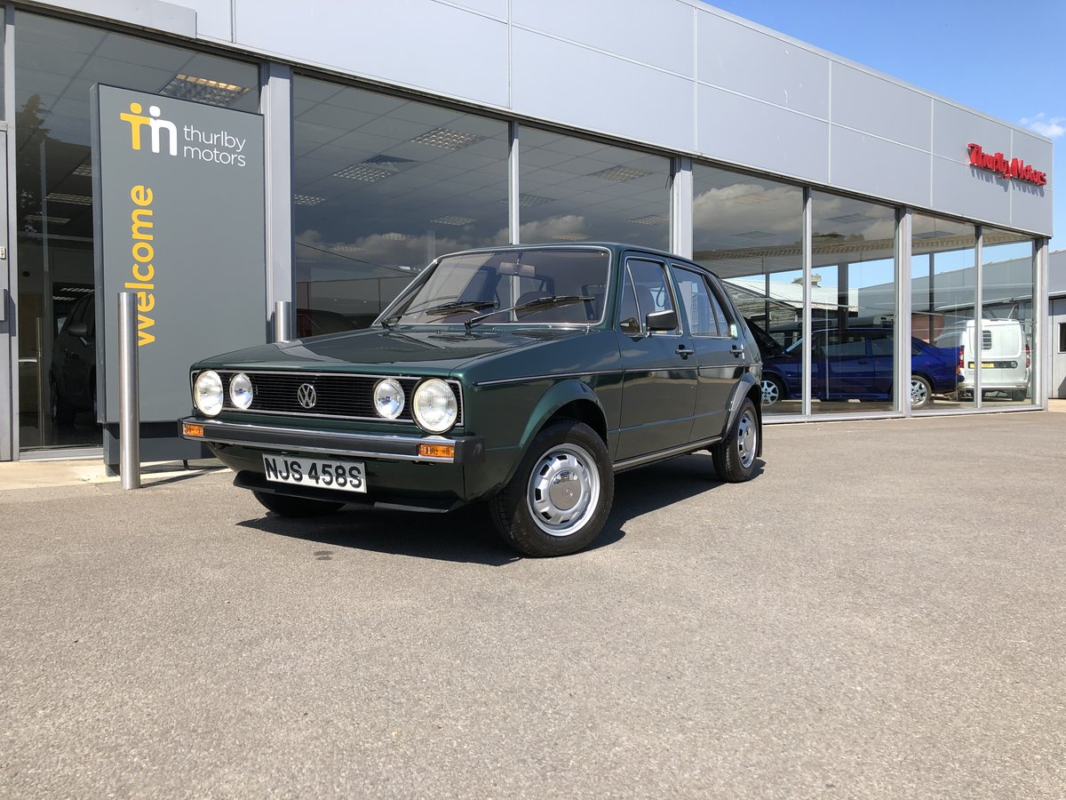 1978 Volkswagen Golf GLS For Sale (picture 1 of 4)