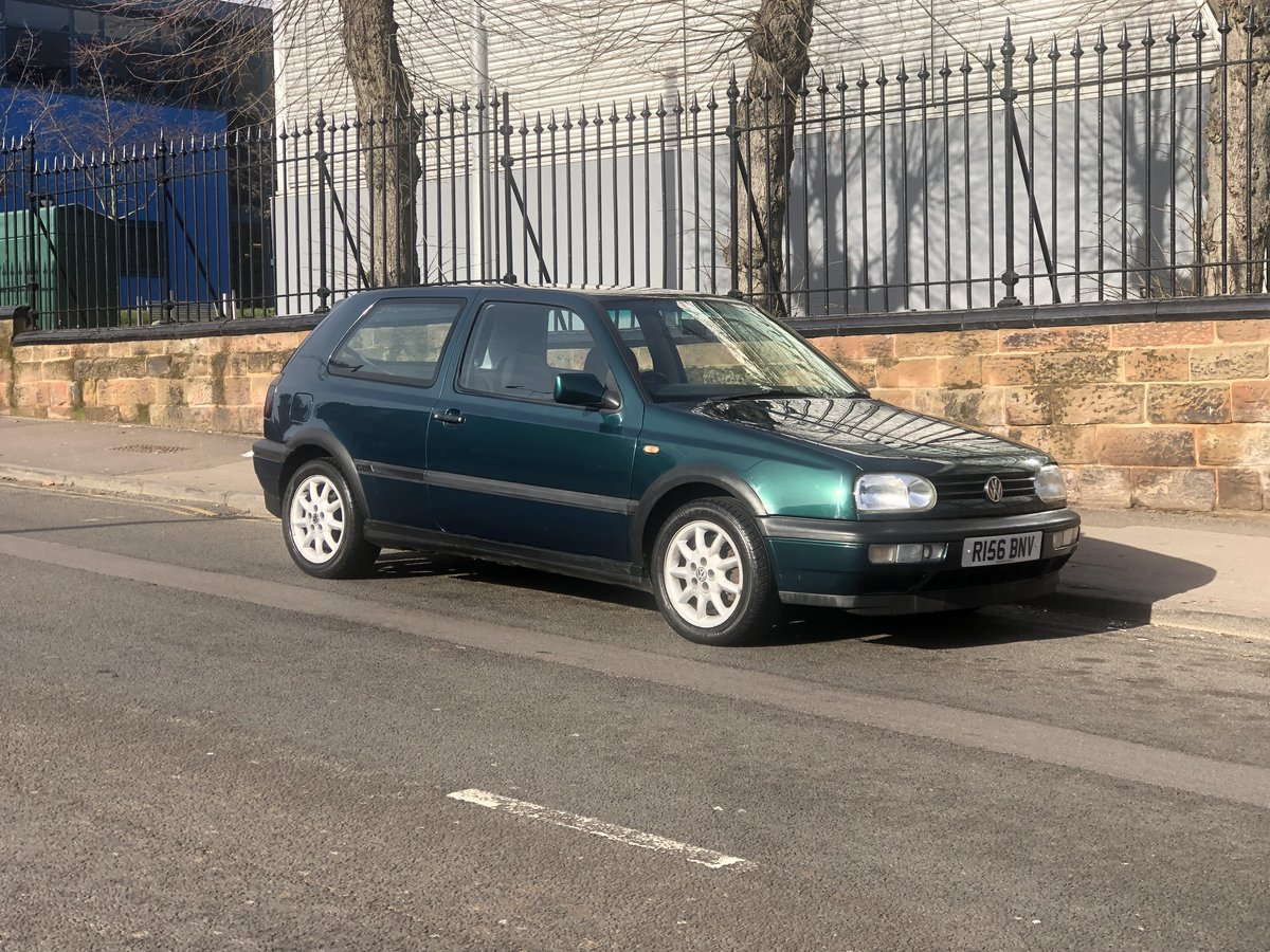 1996 Volkswagen Golf 1.8 GTI, Lots of service history, Long MOT! For Sale (picture 1 of 6)