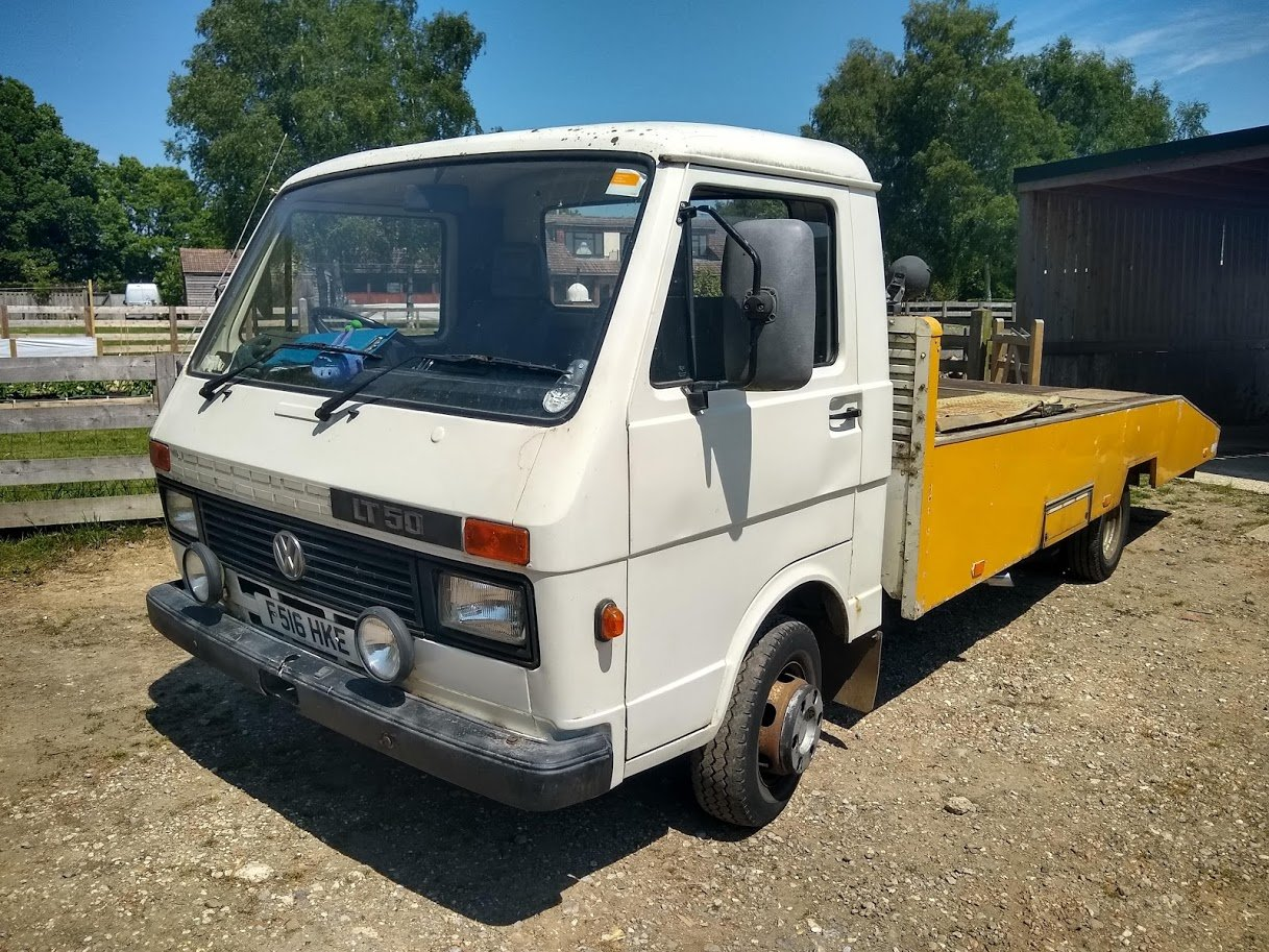 1989 VW LT 50 Car Transporter For auction Friday 12th July For Sale by Auction (picture 1 of 6)