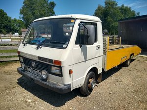 1989 VW LT 50 Car Transporter For auction Friday 12th July SOLD by Auction