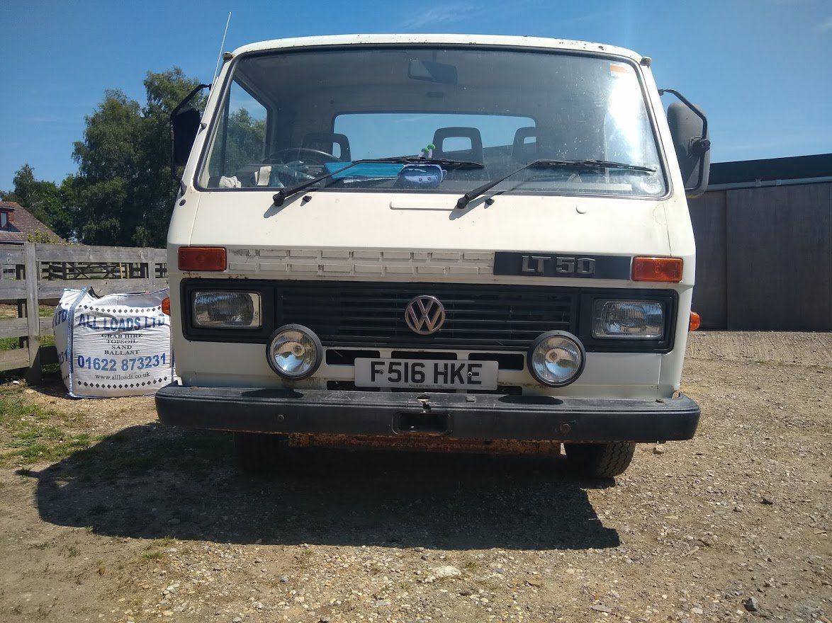 1989 VW LT 50 Car Transporter For auction Friday 12th July For Sale by Auction (picture 3 of 6)