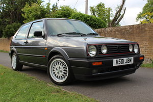 1991 Volkswagen MK2 Golf GTI 3dr Atlas Grey *2PR OWNERS FSH* For Sale
