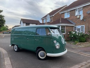 1967 VW Split Screen Double Door O.P. Panel Van For Sale