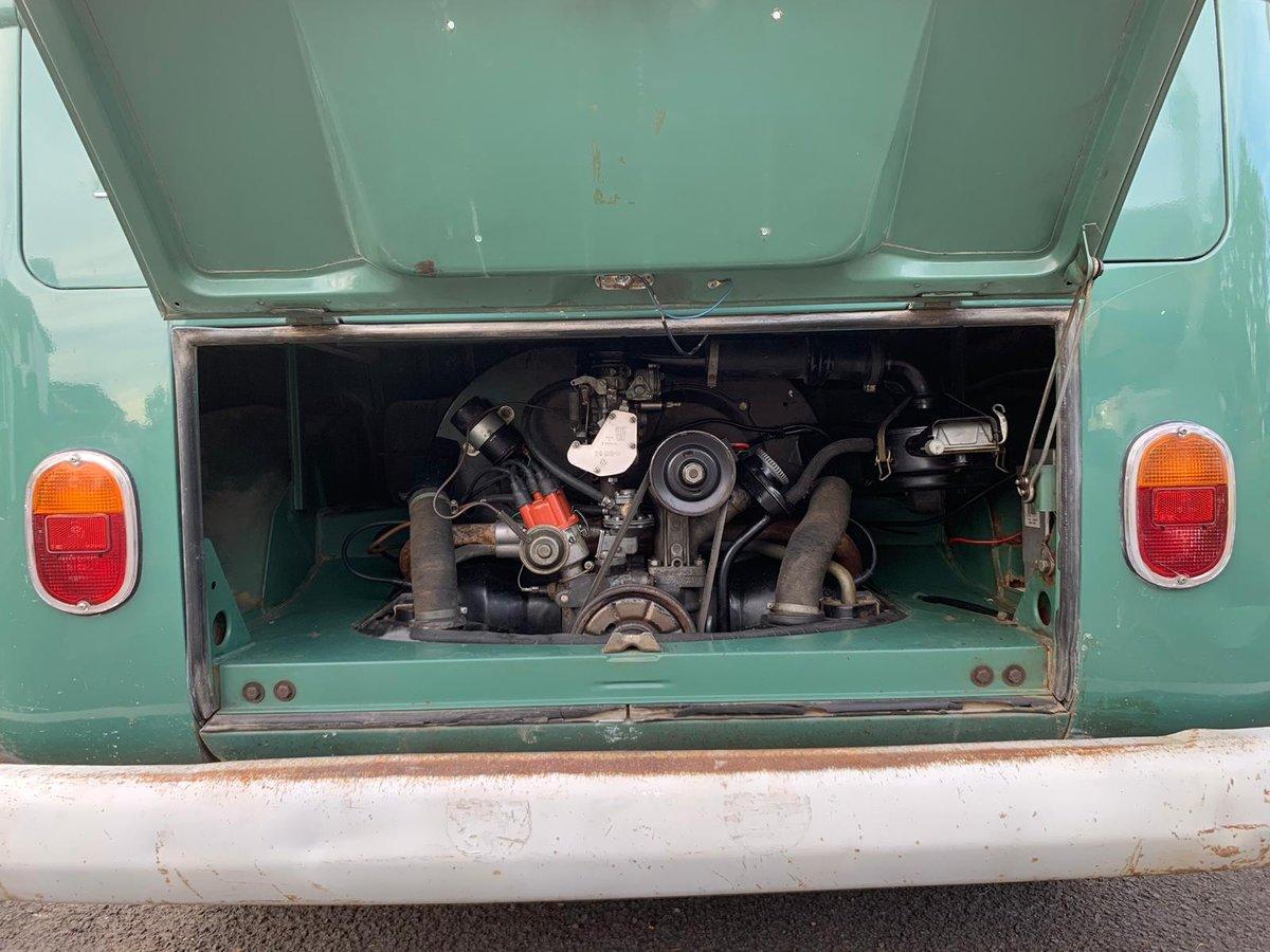 1967 VW Split Screen Double Door O.P. Panel Van For Sale (picture 2 of 6)