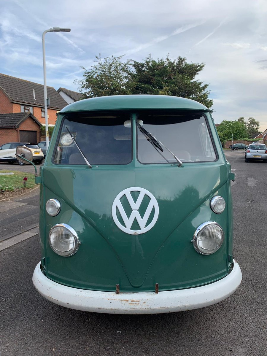 1967 VW Split Screen Double Door O.P. Panel Van For Sale (picture 4 of 6)