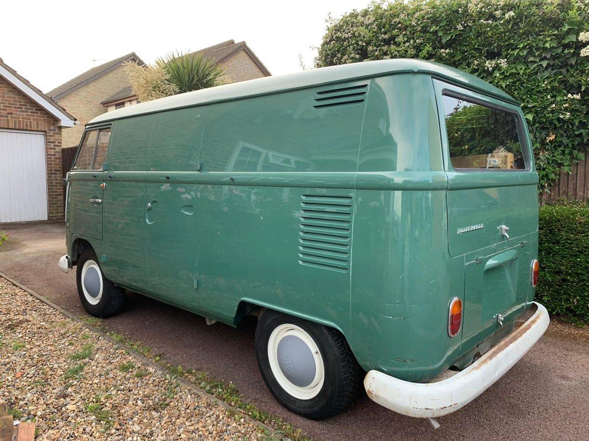 1967 VW Split Screen Double Door O.P. Panel Van For Sale (picture 5 of 6)