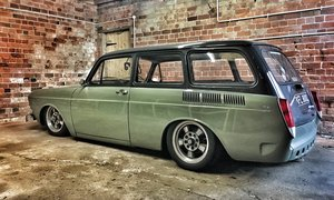 1973 VW Squareback with full air suspension For Sale