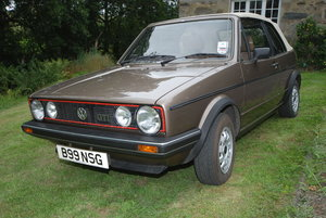 1985 Golf GTi Cabrio For Sale