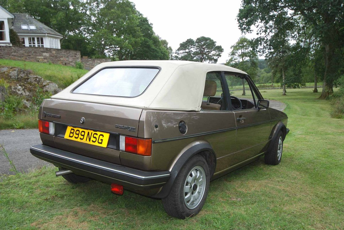 1985 Golf GTi Cabrio For Sale (picture 3 of 6)