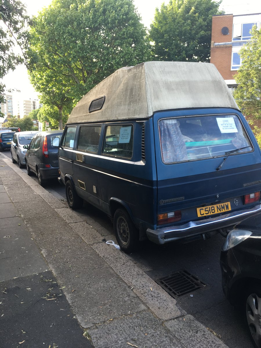 1993 VW T25 Camper 4 berth Automatic  LHD For Sale (picture 2 of 3)