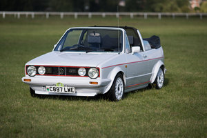 "1986 Now sold....Beautiful Mk1 Golf GTI ""CC"" For Sale"
