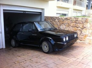 VW Golf GTI Oettinger mk1 1984