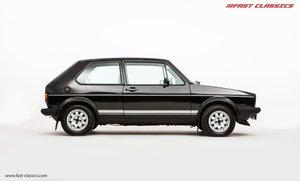1983 VOLKSWAGEN MK1 GOLF GTI // FACTORY ORIGINAL // 17K MILES For Sale