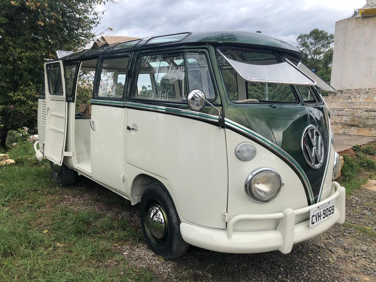 1975 VOLKSWAGEN T1 ORIGINAL VW KOMBI SPLIT SCREEN CAMPER BUS  For Sale (picture 1 of 6)