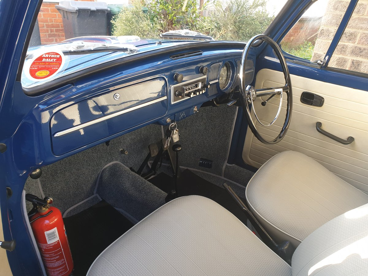 1967 UK RHD, VW Beetle, never welded SOLD (picture 2 of 6)