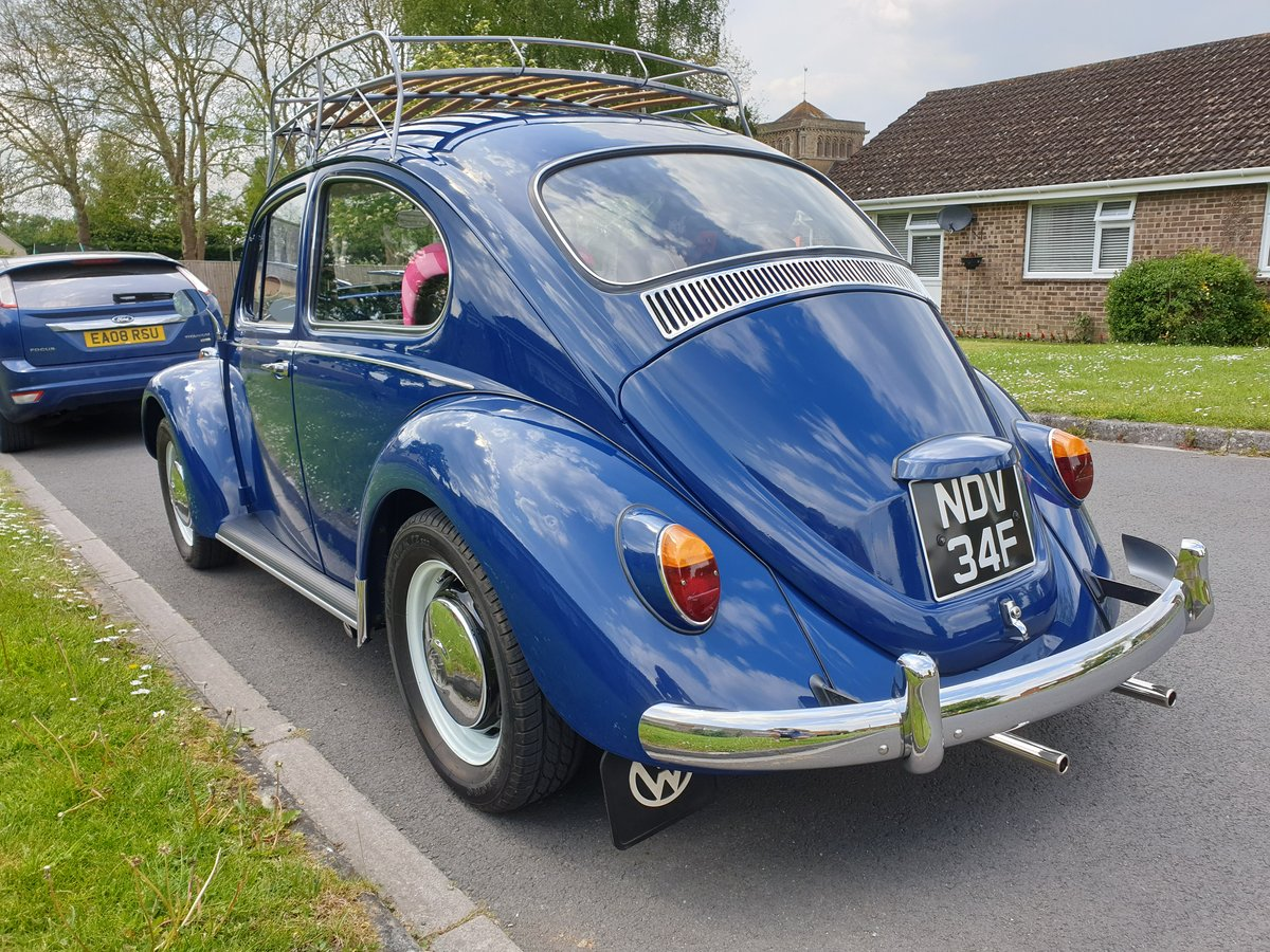 1967 UK RHD, VW Beetle, never welded SOLD (picture 5 of 6)