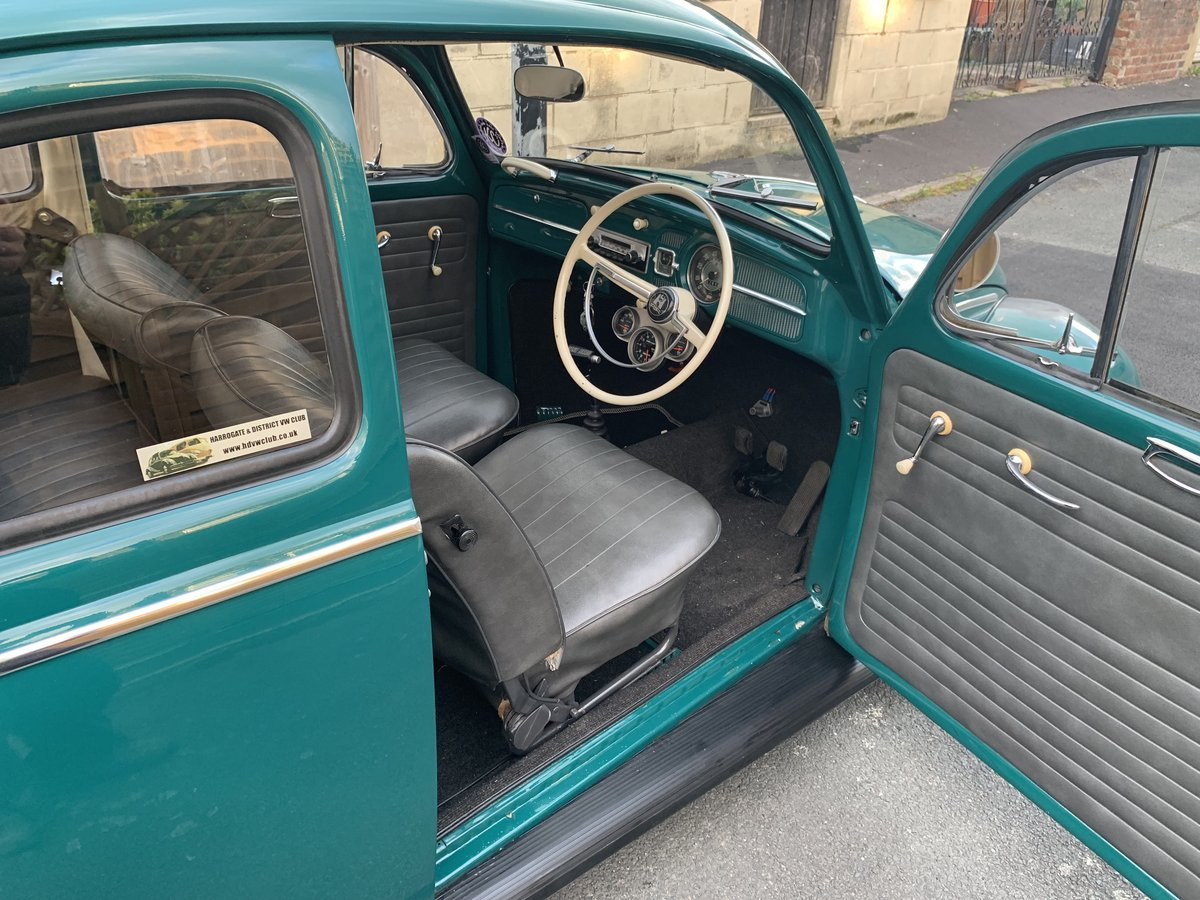 1963 63 beetle, java green, 1776cc inc fresh MOT For Sale | Car And