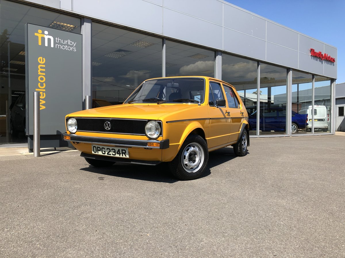 1976 Volkswagen Golf LS For Sale (picture 1 of 5)