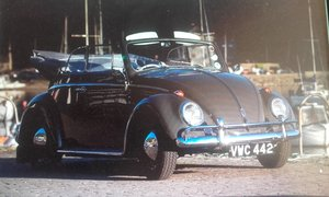 1962 RHD Karmann beetle Fully restored Featured For Sale